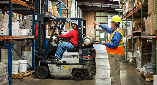 safety training for forklift safety