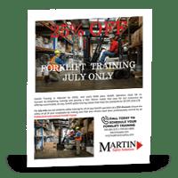 Forklift Safety Training Brochure | MartinSupply.com