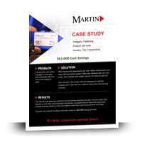Tier 1 Automotive Fastening Solutions Case Study - MartinSupply.com