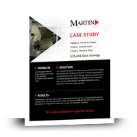 Aerospace Machine Shop Case Study - MartinSupply.com