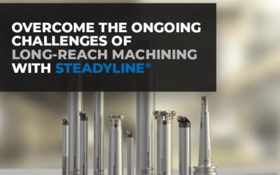 Overcome the Ongoing Challenges of Long-Reach Machining with Steadyline®