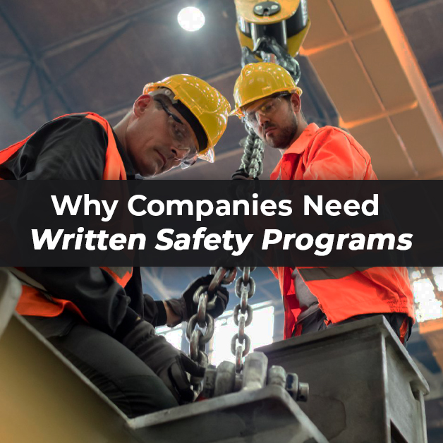 Why Companies Need Written Safety Programs