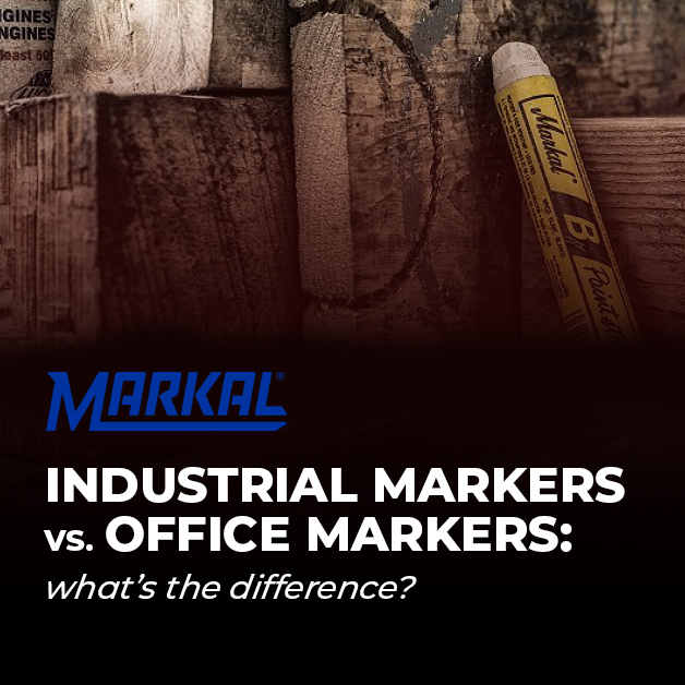 Industrial Markers vs. Office Markers: What's the Difference?
