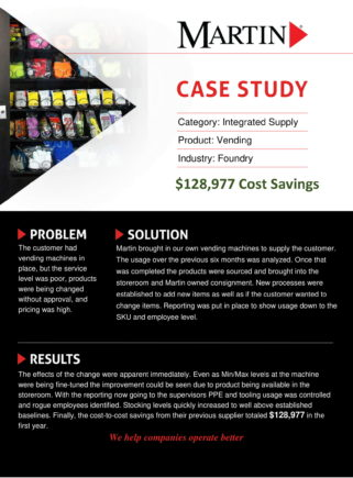 Foundry-Integrated-Supply-Case-Study